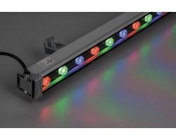 Светодиодный линейный прожектор DE-LL-889 18W RGB