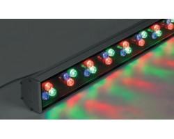 Светодиодный линейный прожектор DE-LL-890 36W RGB