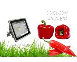 Фито прожектор EmyLight Plus полный спектр 50 Вт для теплиц и оранжерей