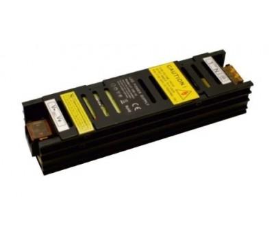Блок питания светодиодной ленты 100Вт black узкий 12В