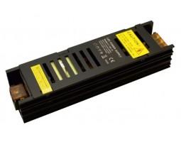 Блок питания светодиодной ленты 150Вт black узкий 12В