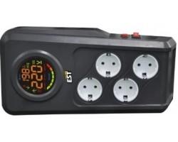 Стабилизатор напряжения 1,5кВт EST 1500 DRS релейный
